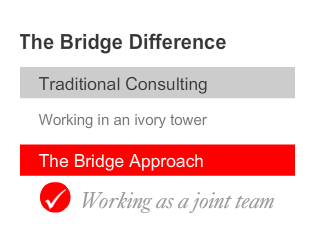 THE BRIDGE DIFFERENCE 1
