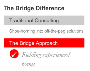THE BRIDGE DIFFERENCE 5